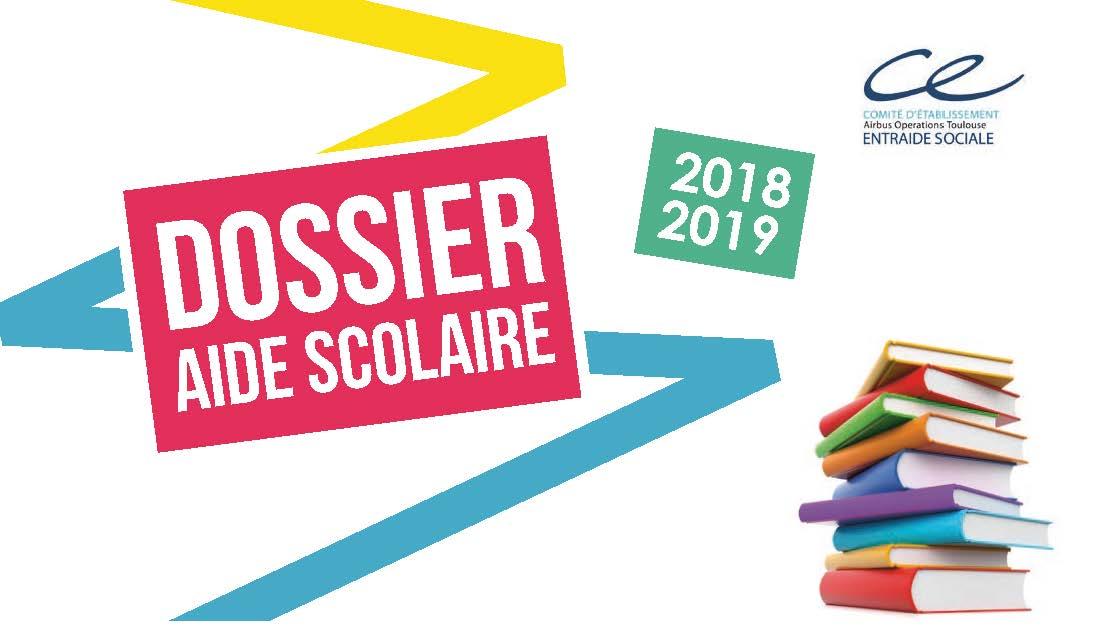 Dossier AIDE SCOLAIRE 2018/2019