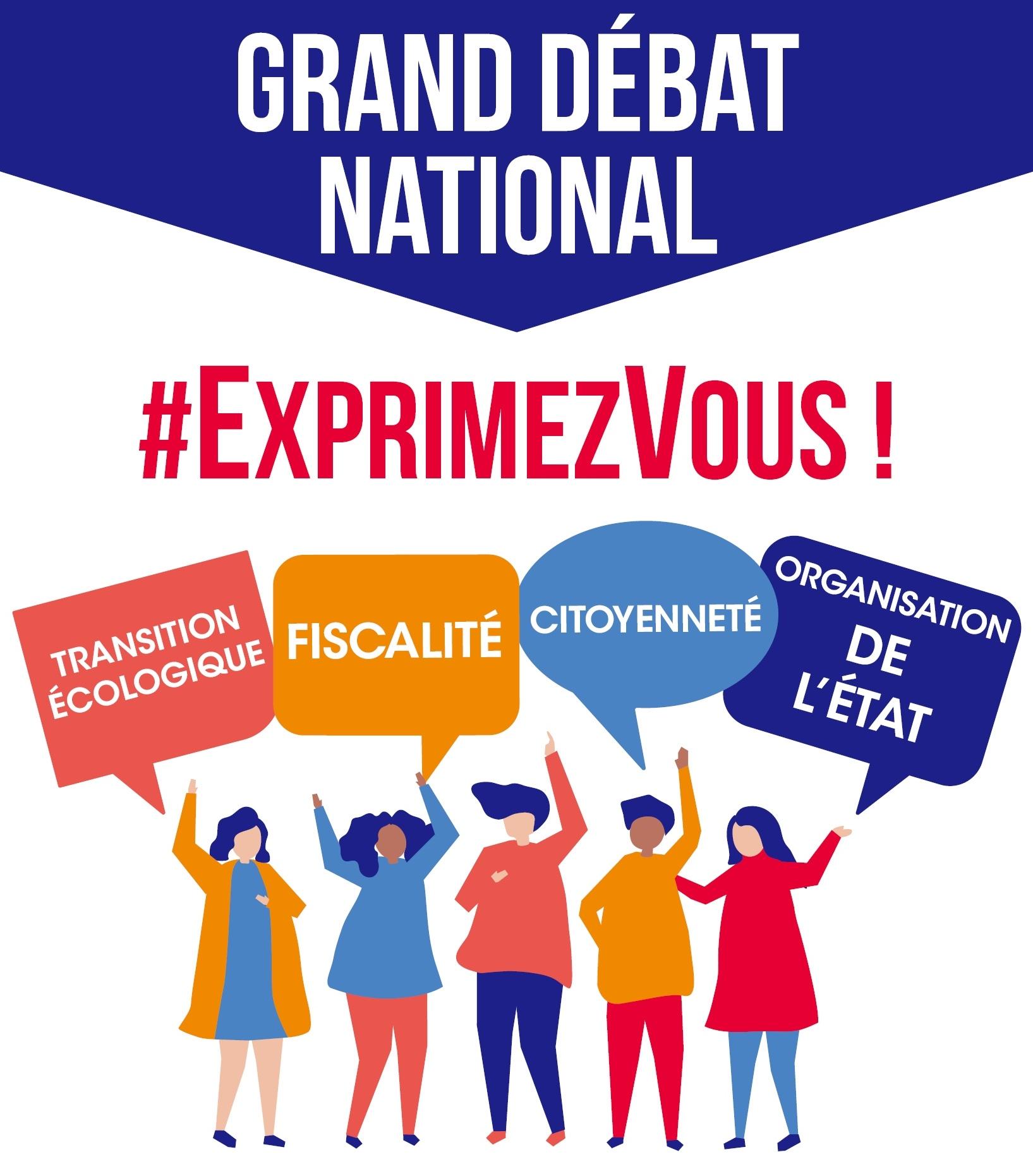 Grand débat : fiscalité