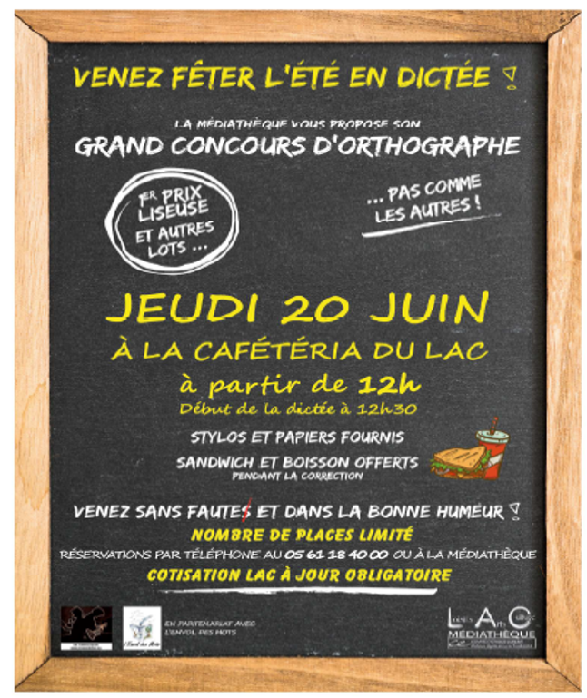 GRAND CONCOURS D'ORTHOGRAPHE
