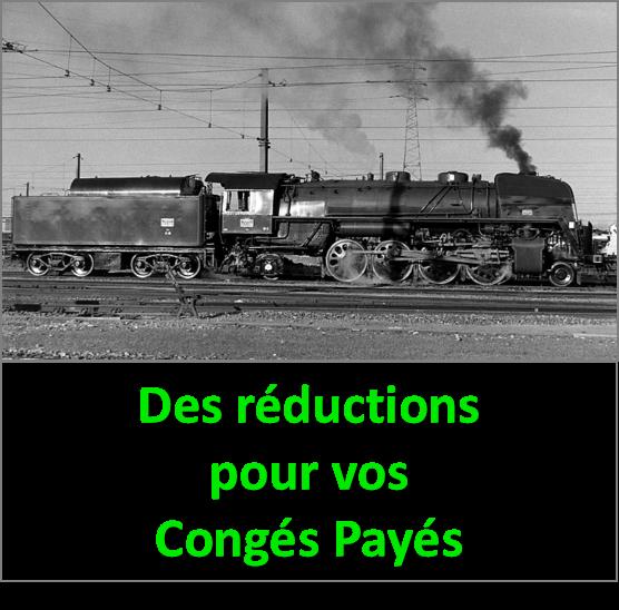 Congés Payés et billet SNCF