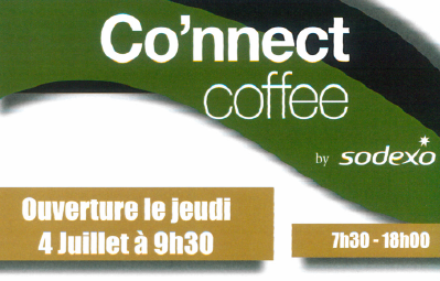 Ouverture du « Co'nnect coffee » au R01