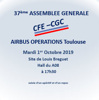 CFE-CGC Airbus Operations Toulouse 37e ASSEMBLEE GENERALE