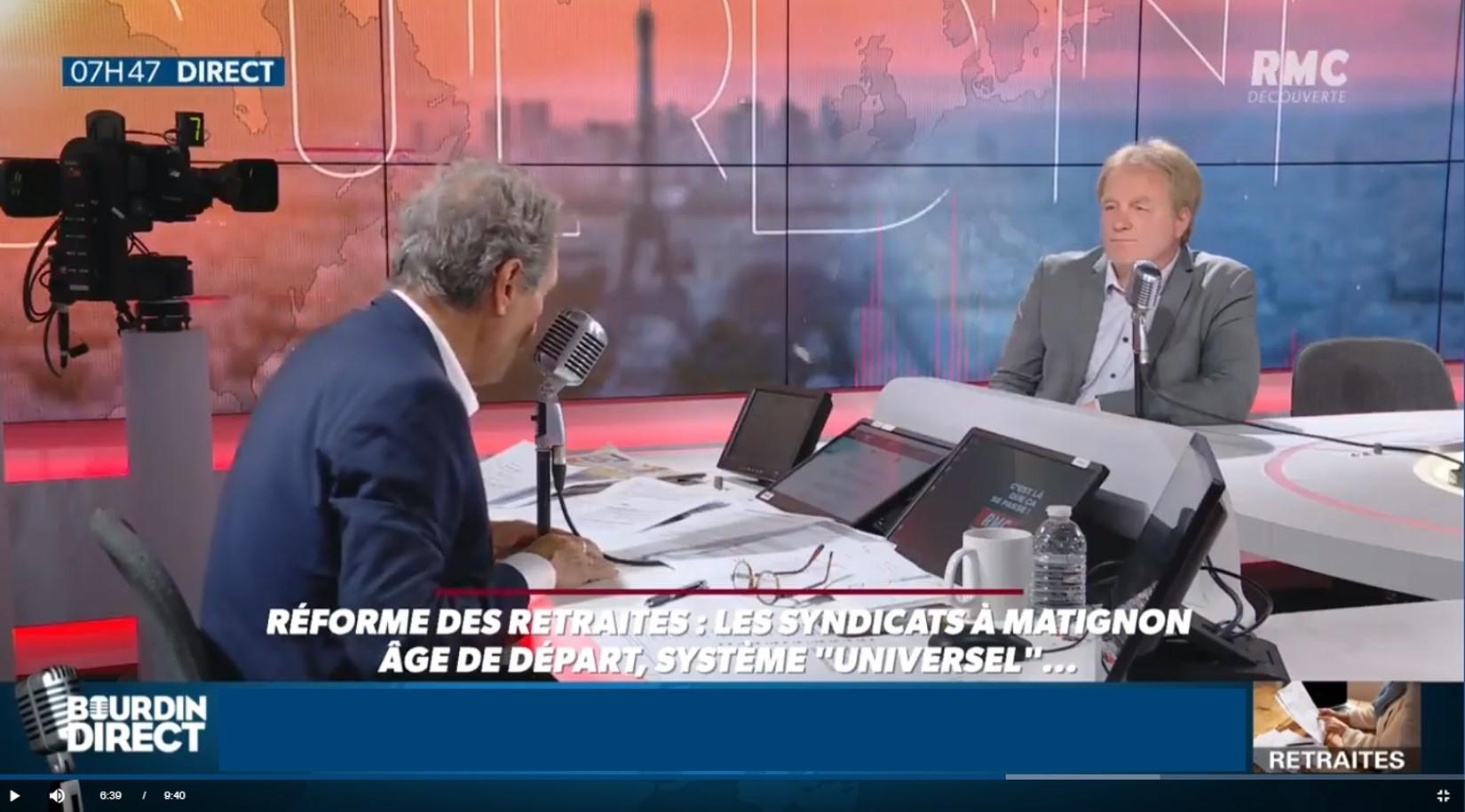 Bourdin reçoit François Hommeril