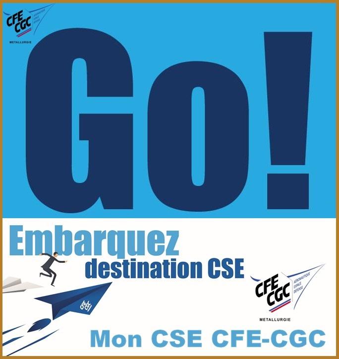 GO ! Embarquez destination CSE