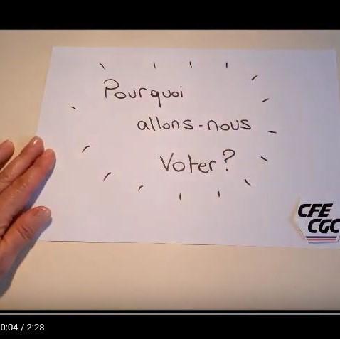 Elections CSE du 26 au 28 novembre