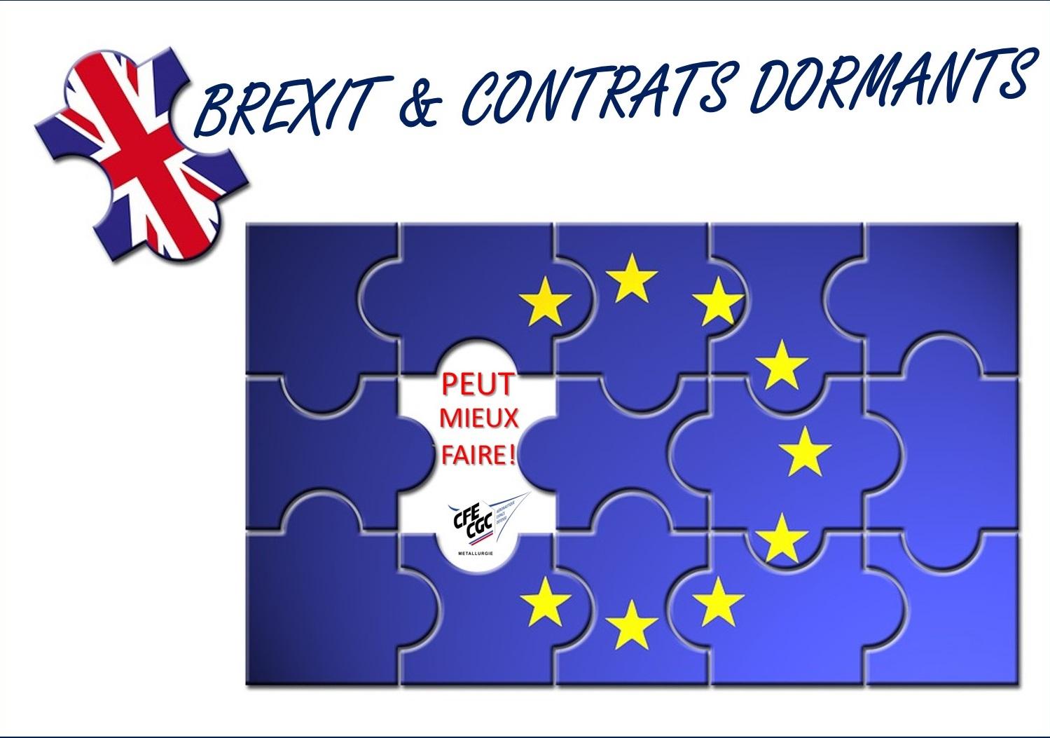 Brexit & Contrats Dormants – brexit, dormant contacts