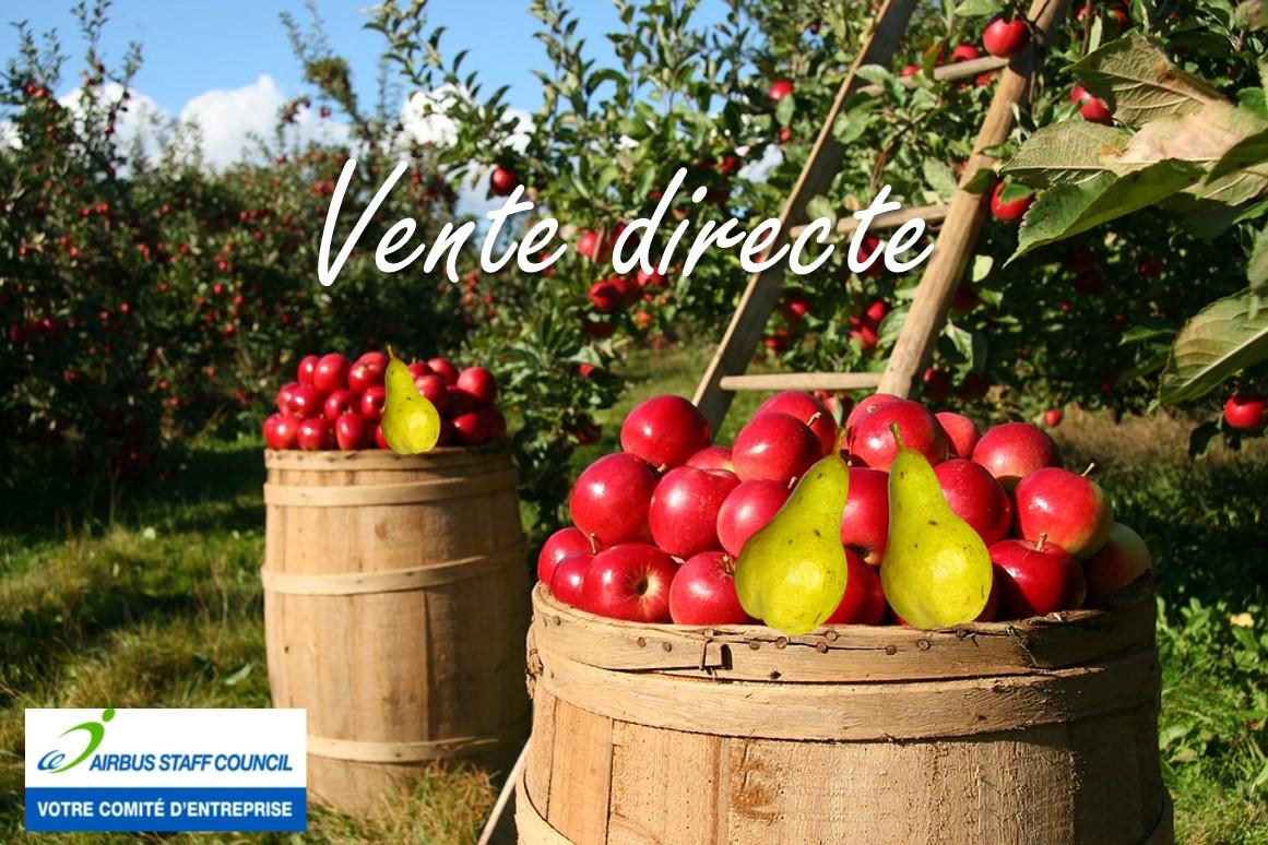 AISC : VENTE DIRECTE DE FRUITS DE SAISON
