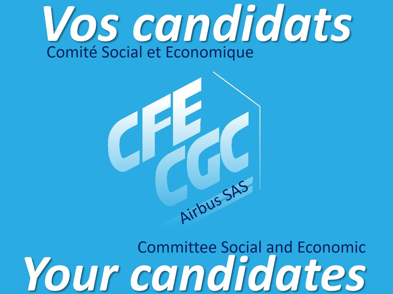 Vos Candidats