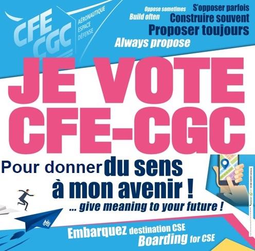 Je vote CFE-CGC