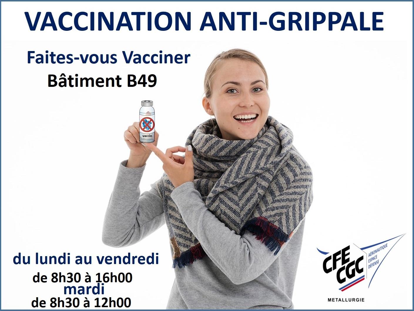 La Vaccination anti-grippale