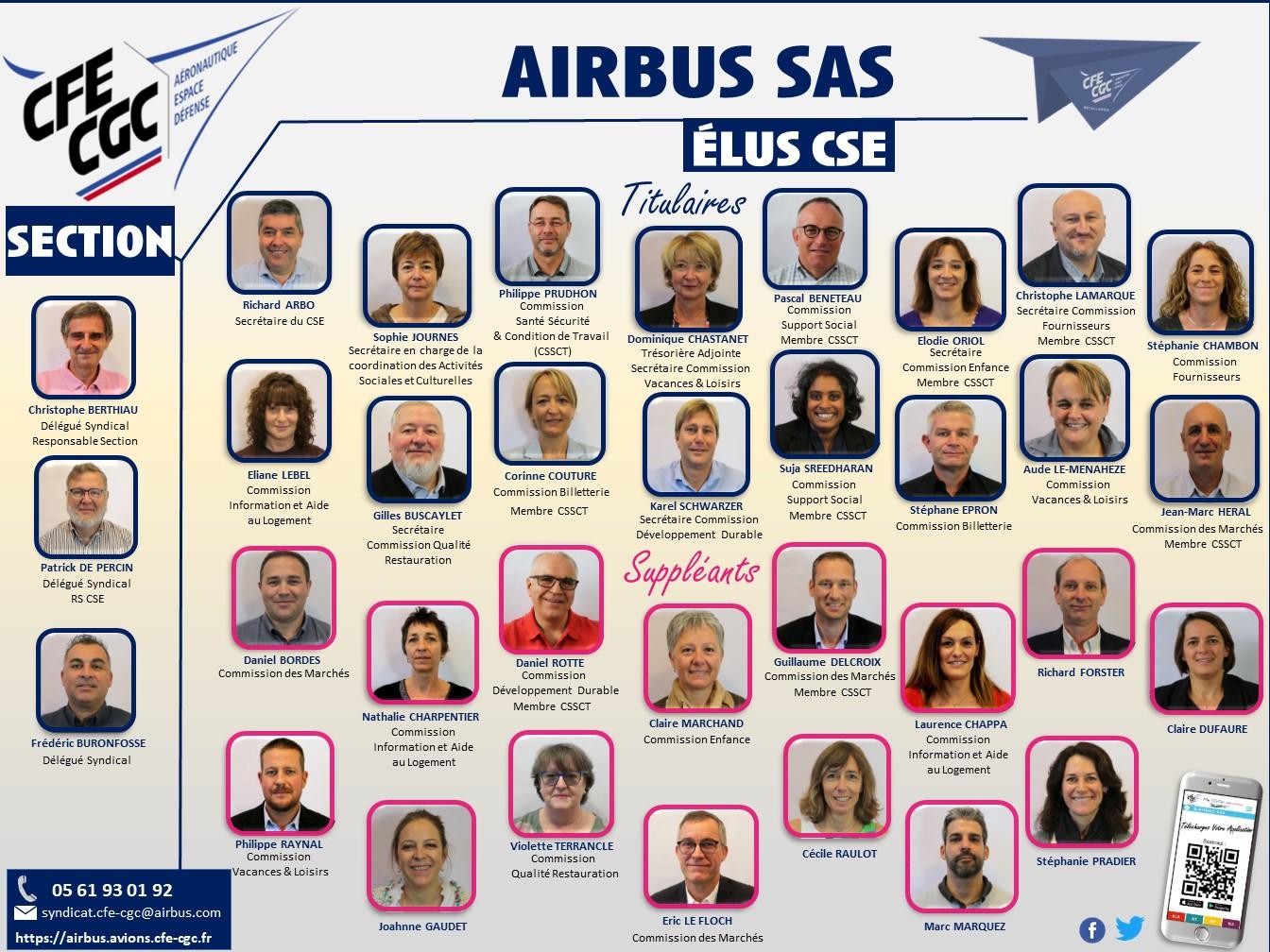 Vos Elus CFE-CGC d'Airbus SAS
