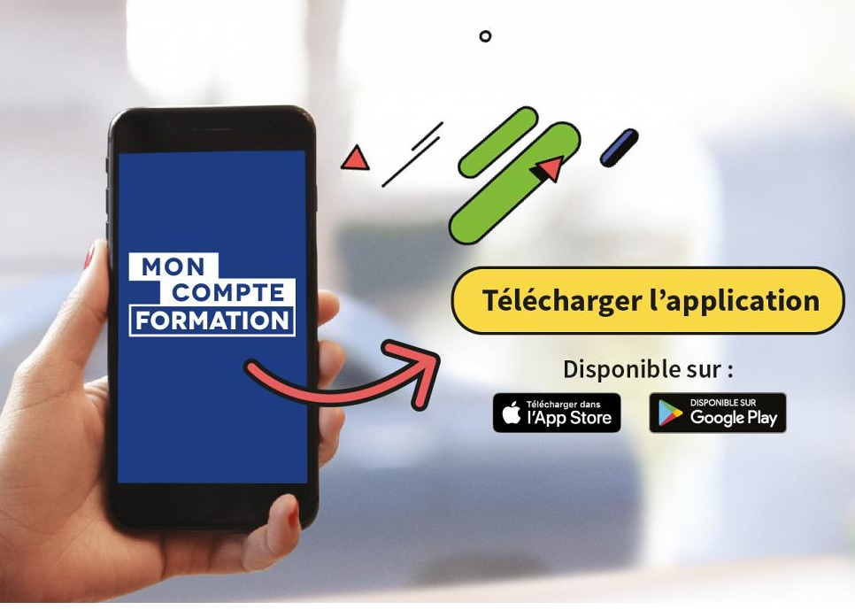 Lancement de l'application mobile Mon Compte Formation