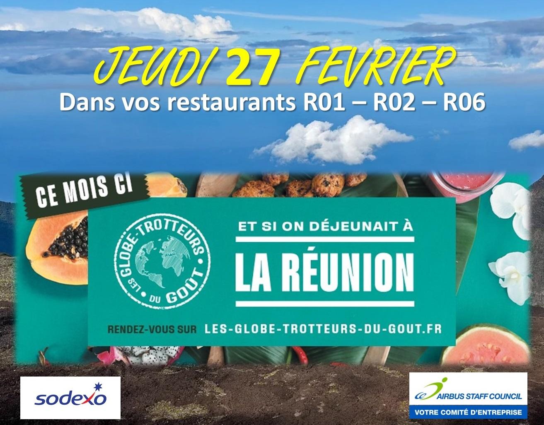 Et si on déjeunait à la Réunion ?