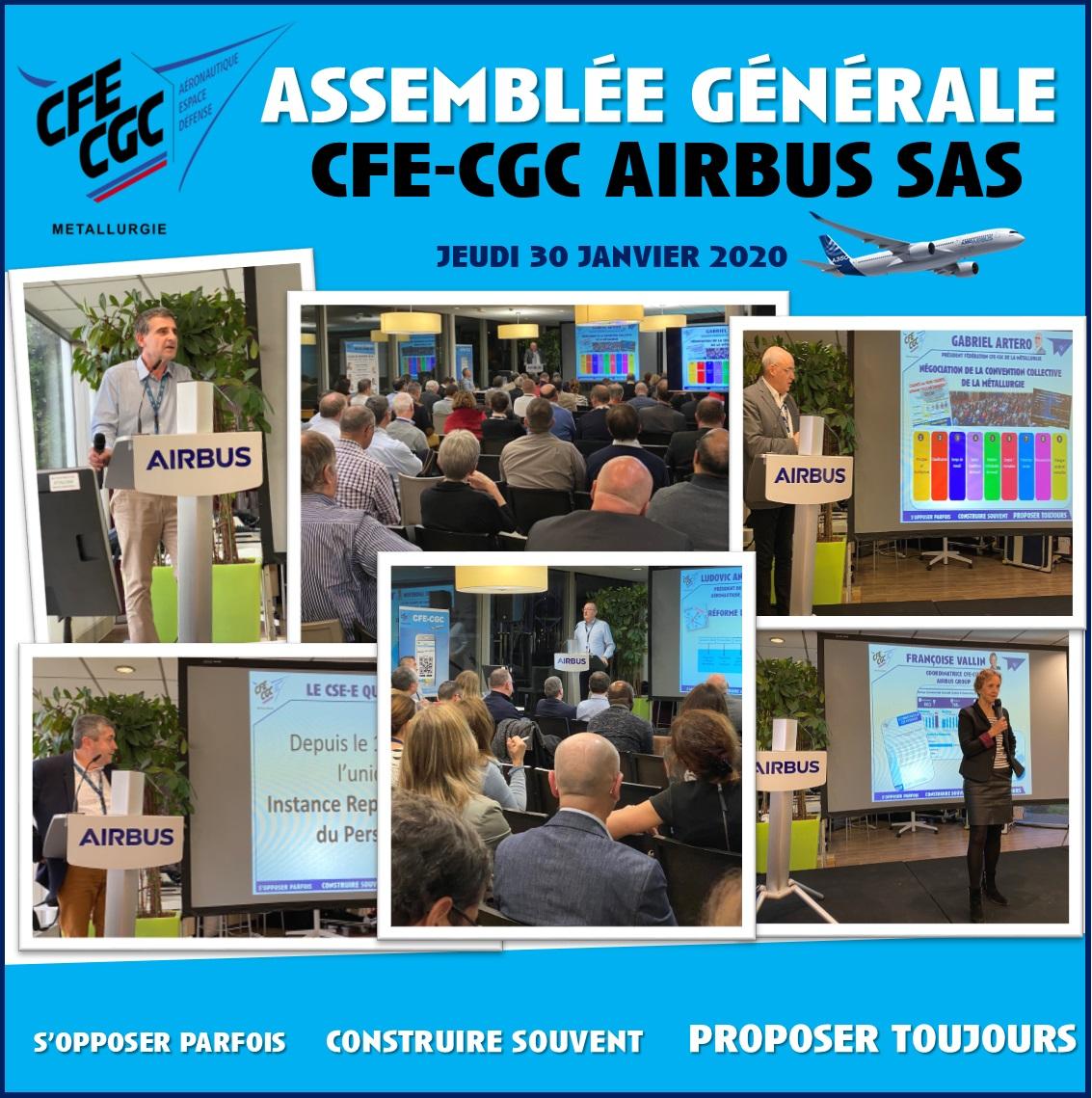 Assemblée Générale Airbus SAS