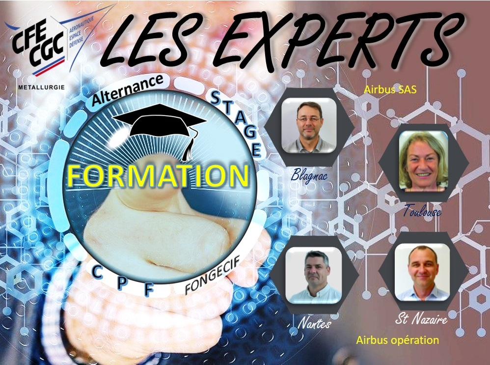 Les Experts : Formation
