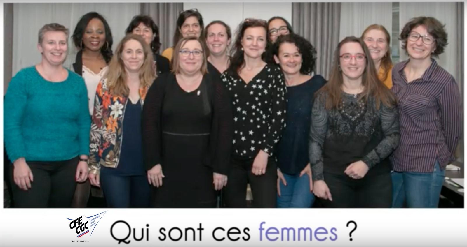 Les femmes de la Métallurgie !