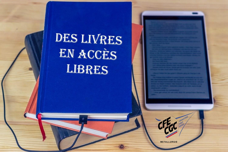Des livres en accès libre