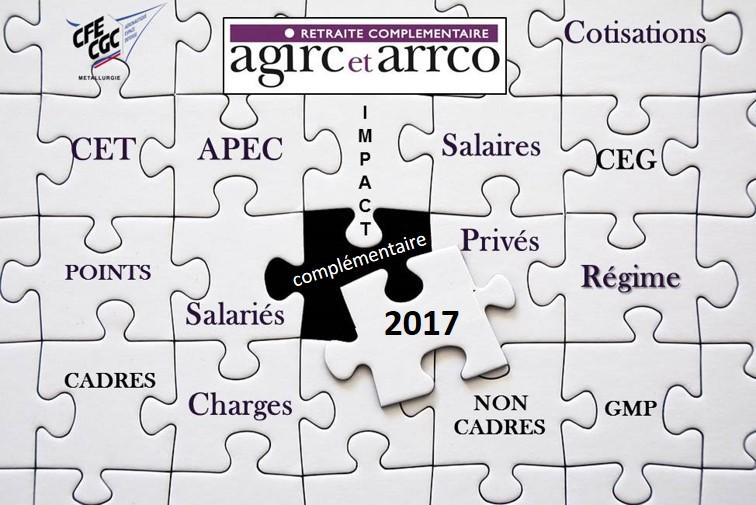 Cotisation complémentaire retraite 2017