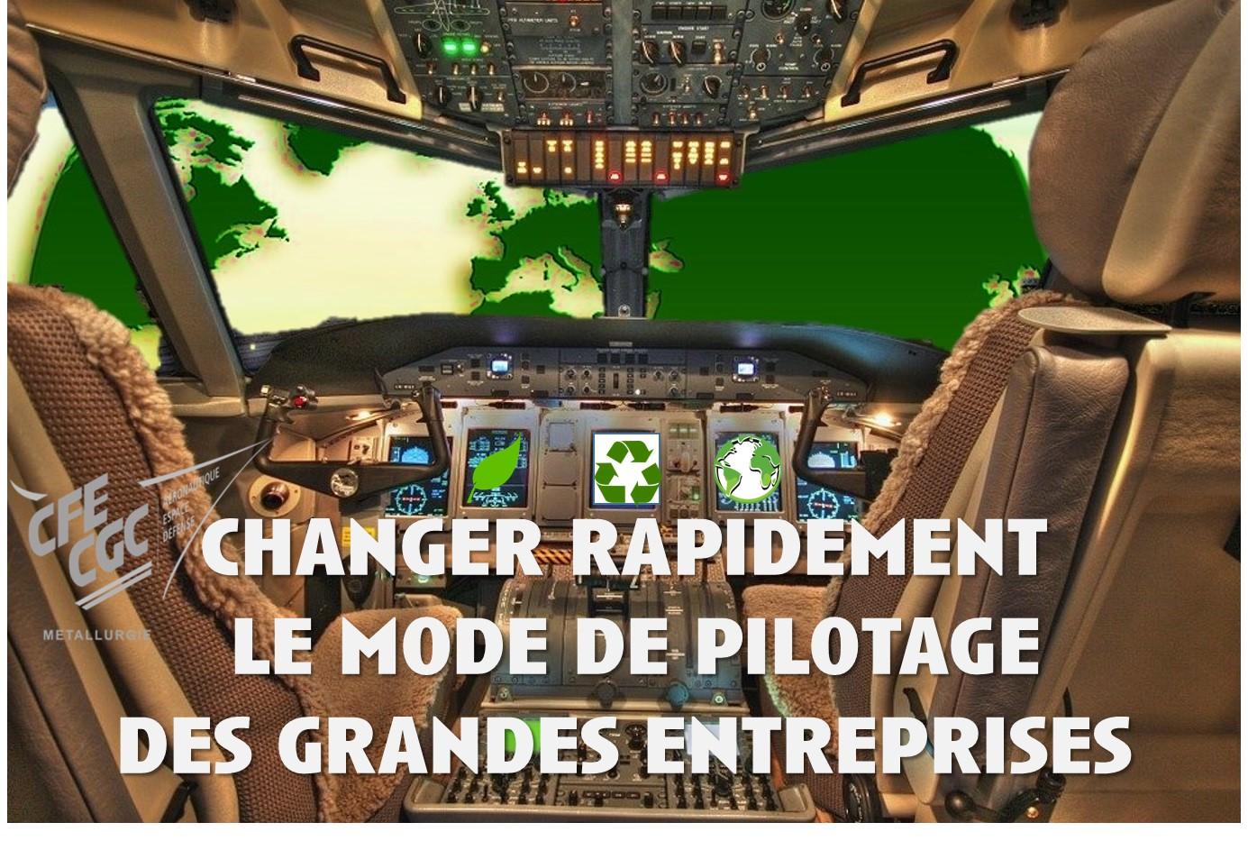 Changer rapidement le mode de pilotage des grandes entreprises.