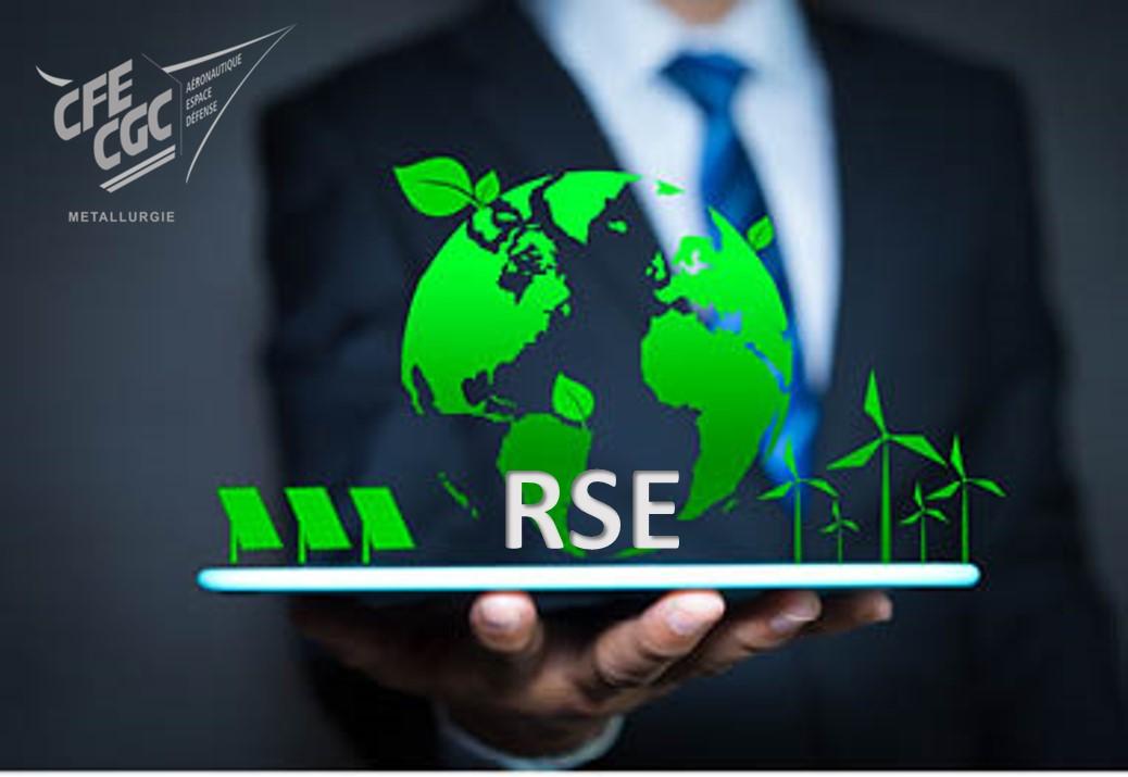 RSE :  la CFE-CGC publie sa communication sur l'engagement