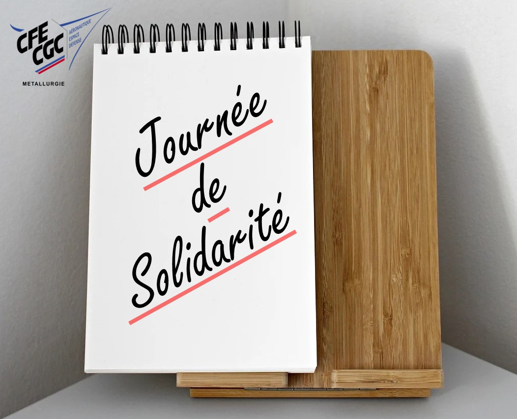Journée de solidarité 2020/Solidarity Day 2020