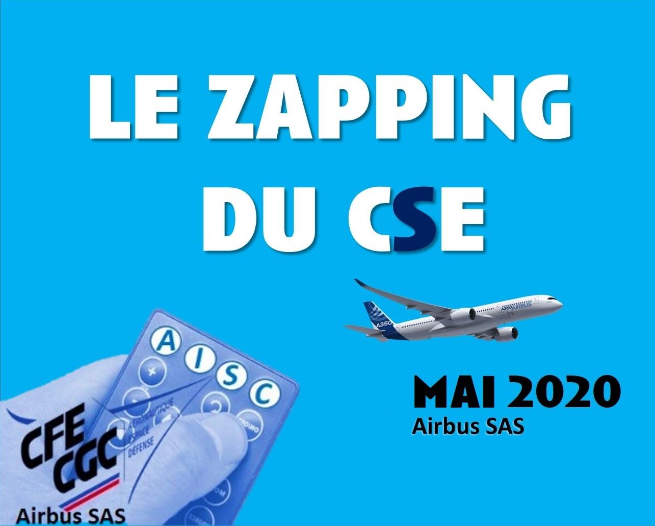 Le Zapping du CSE – Mai 2020