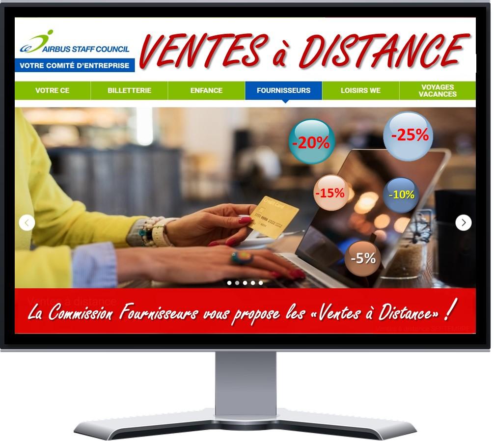 """LA COMMISSION FOURNISSEURS DE l' AISC  VOUS PROPOSE  LES """"VENTES À DISTANCE"""" !"""