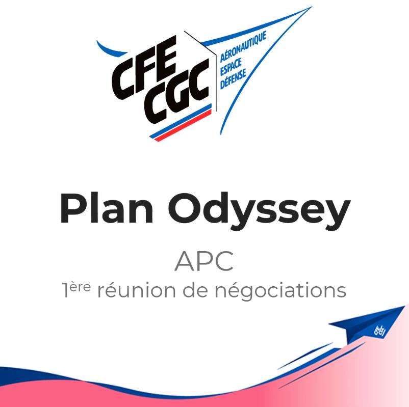 Odyssey : 1ère réunion de négociations APC