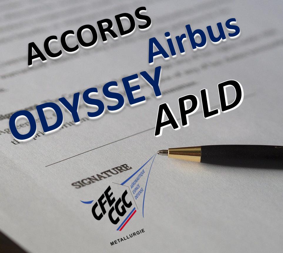La CFE-CGC AIRBUS signe 2 accords majeurs pour la protection de l'emploi