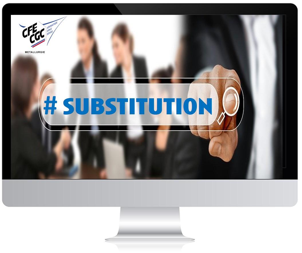 # SUBSTITUTION