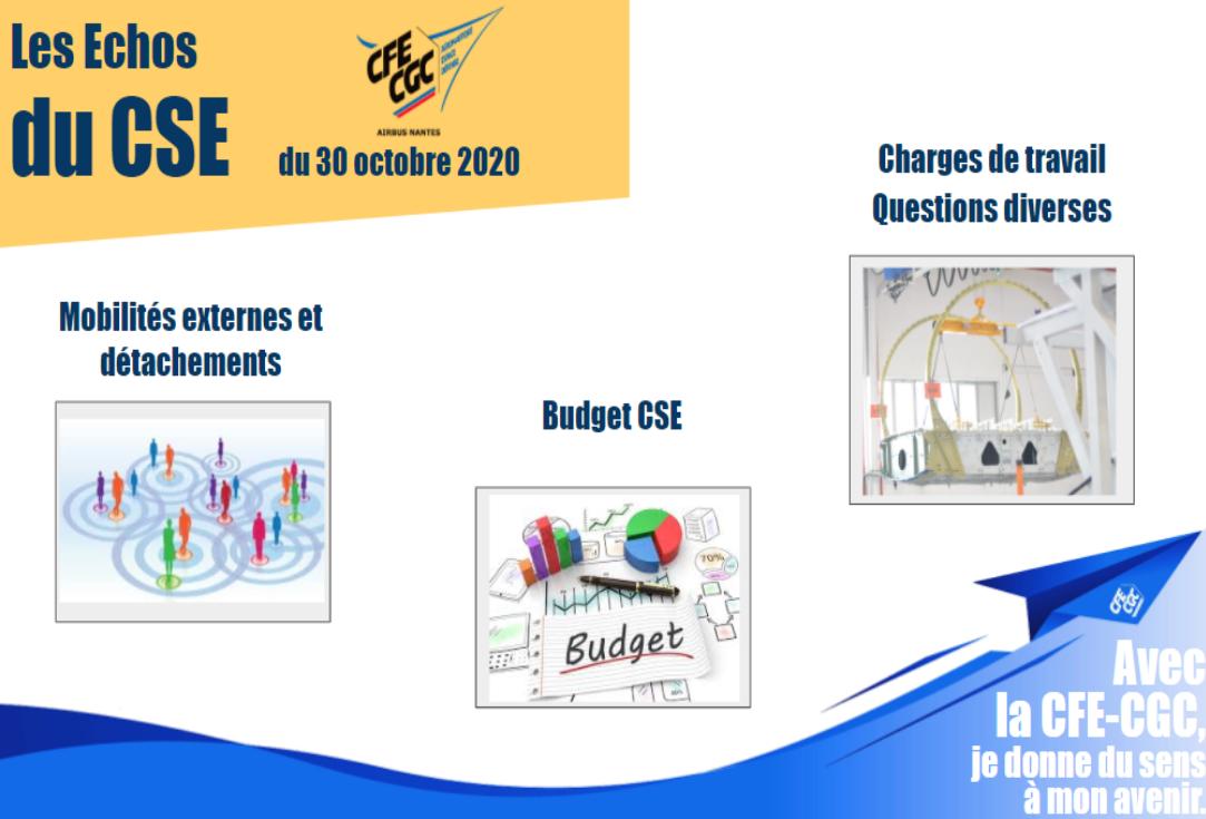 Echos du CSE Airbus Nantes