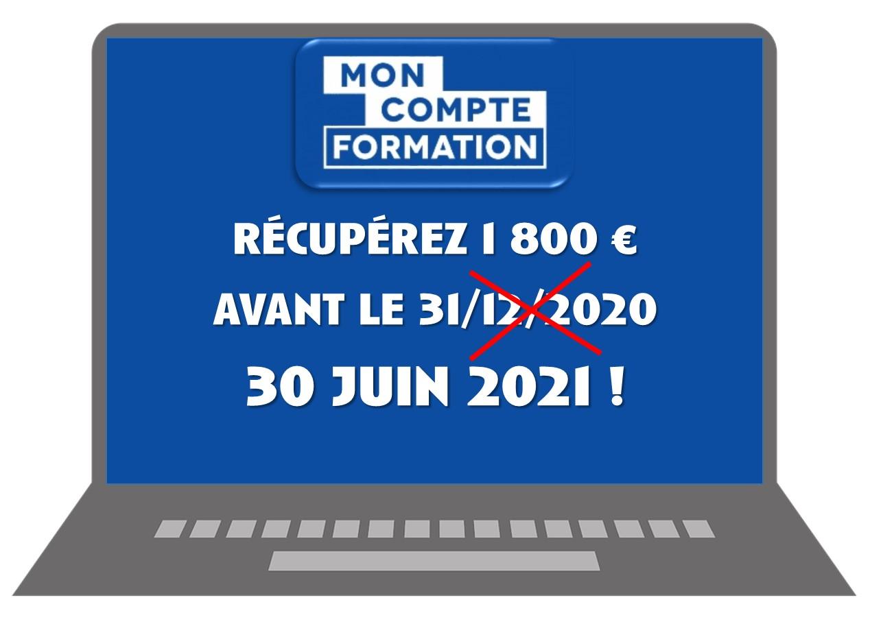 Récupérez 1 800 € avant le 30 juin 2021 !