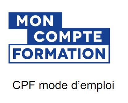 CPF Mode d'emploi