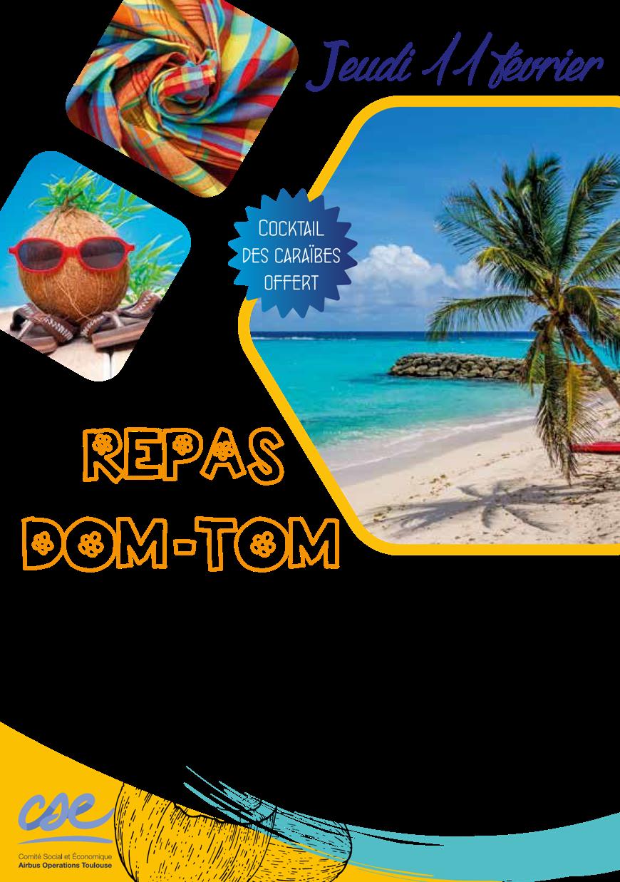 CSE – Repas DOM-TOM