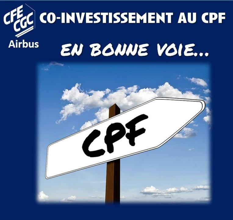 CO-INVESTISSEMENT AU CPF