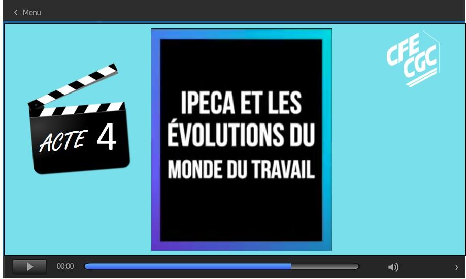 IPECA Acte 4 : Les évolutions du monde du travail