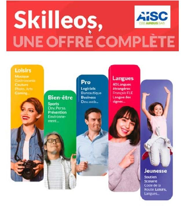 Nouveau AISC : Skilleos, une offre complète !