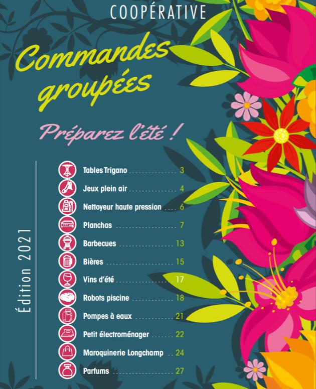 CSE: Commandes groupées