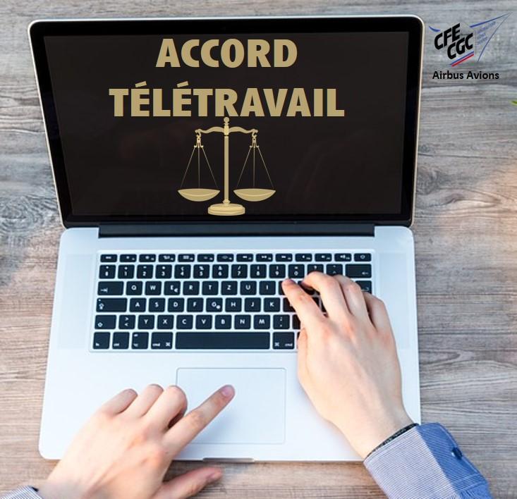 RESPECT DE L'ACCORD TÉLÉTRAVAIL