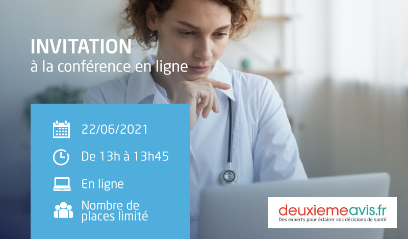 "IPECA – Conférence en ligne : "" Second avis médical """