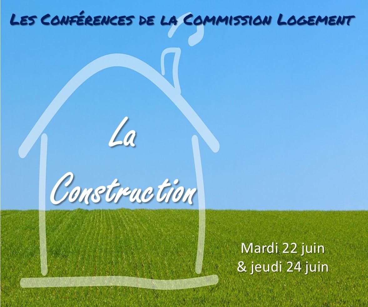 Les Conférences de la Commission Logement