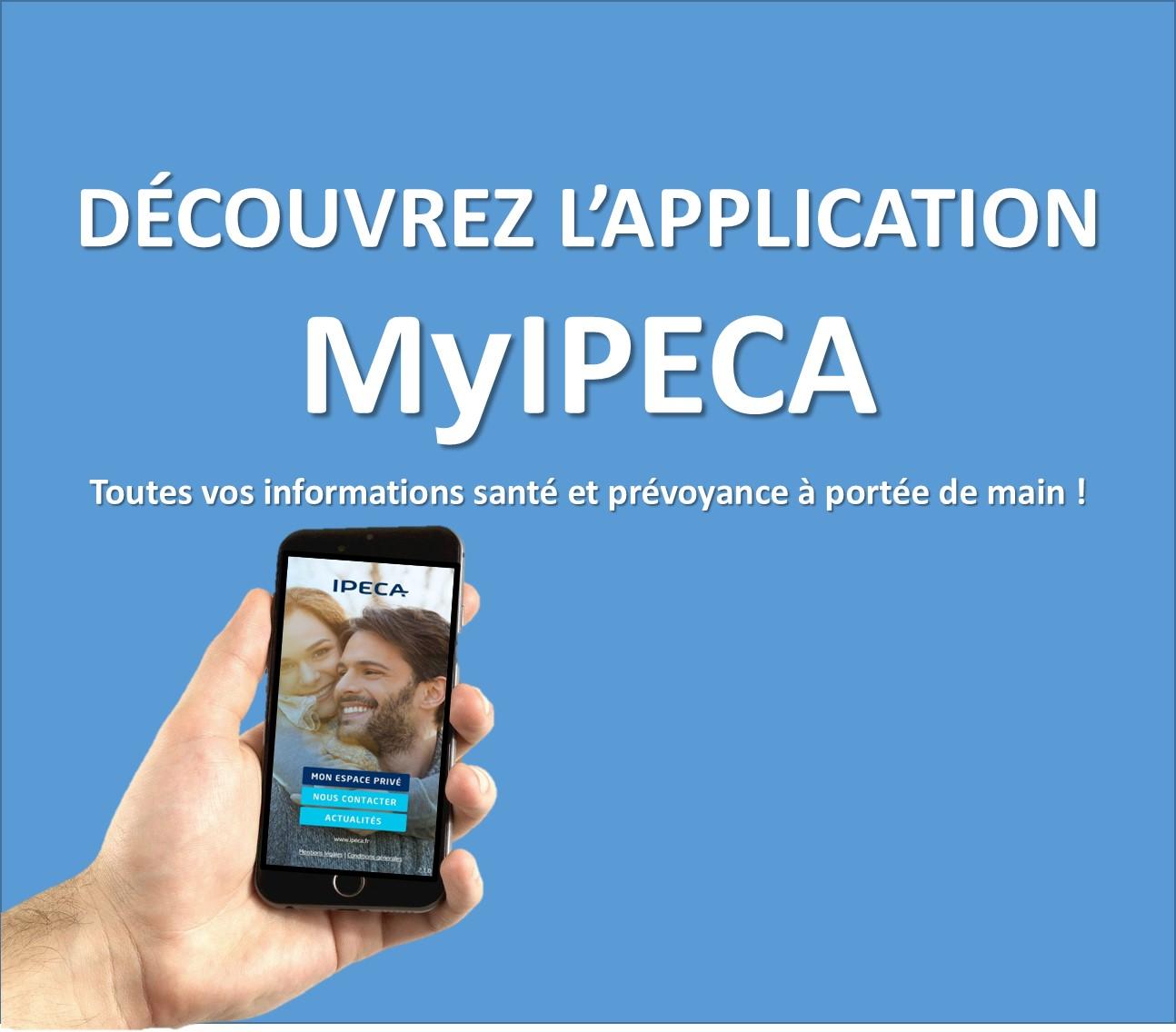 Découvrez l'application MyIPECA